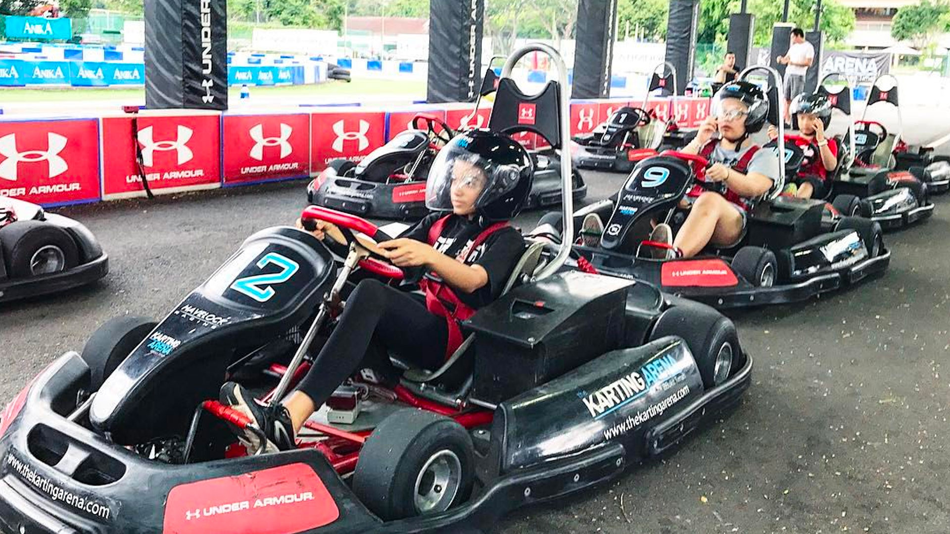 Image result for couples go kart racing