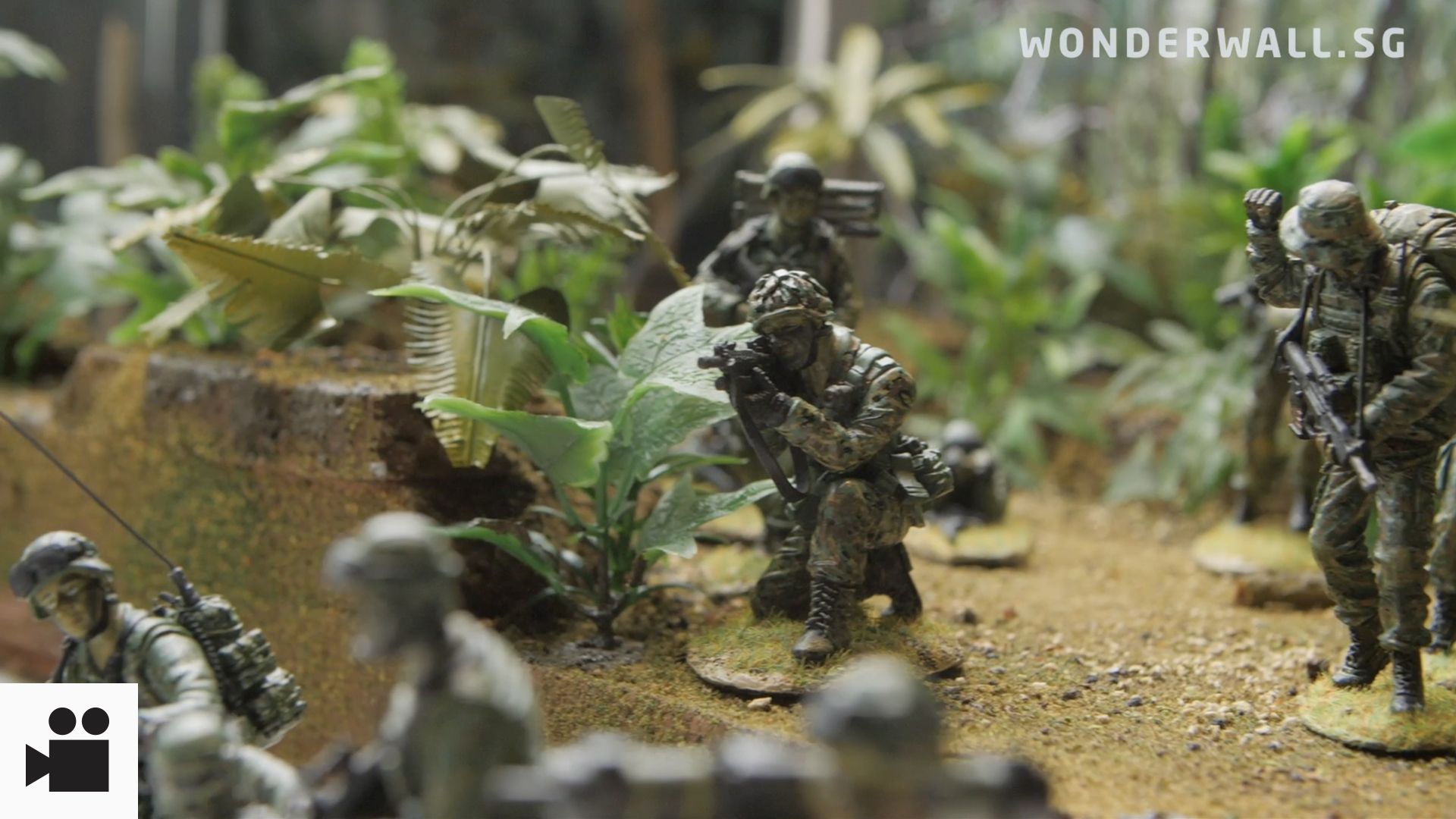 Love For SAF Leads To Creation Of Collectible Miniature Figurines