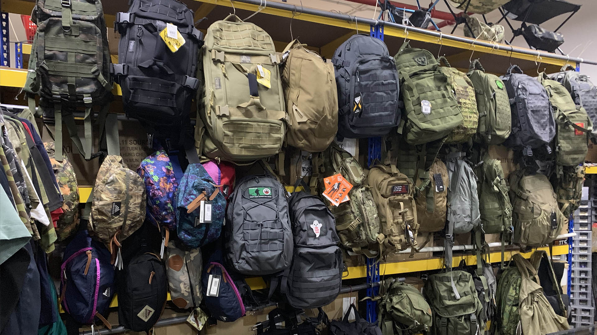 Army Shops For Your Last Minute Reservist Shopping