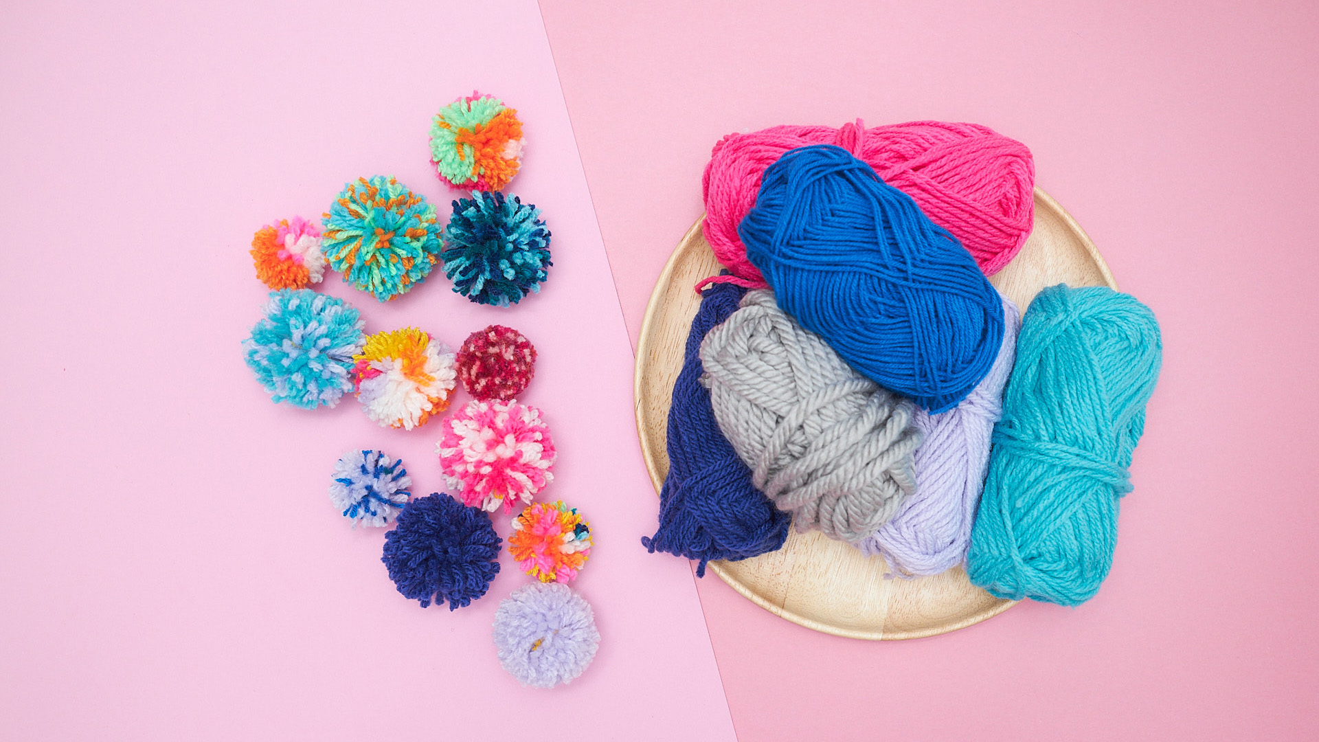 5-Minute DIY: Make Your Own Fluffy Pom Poms