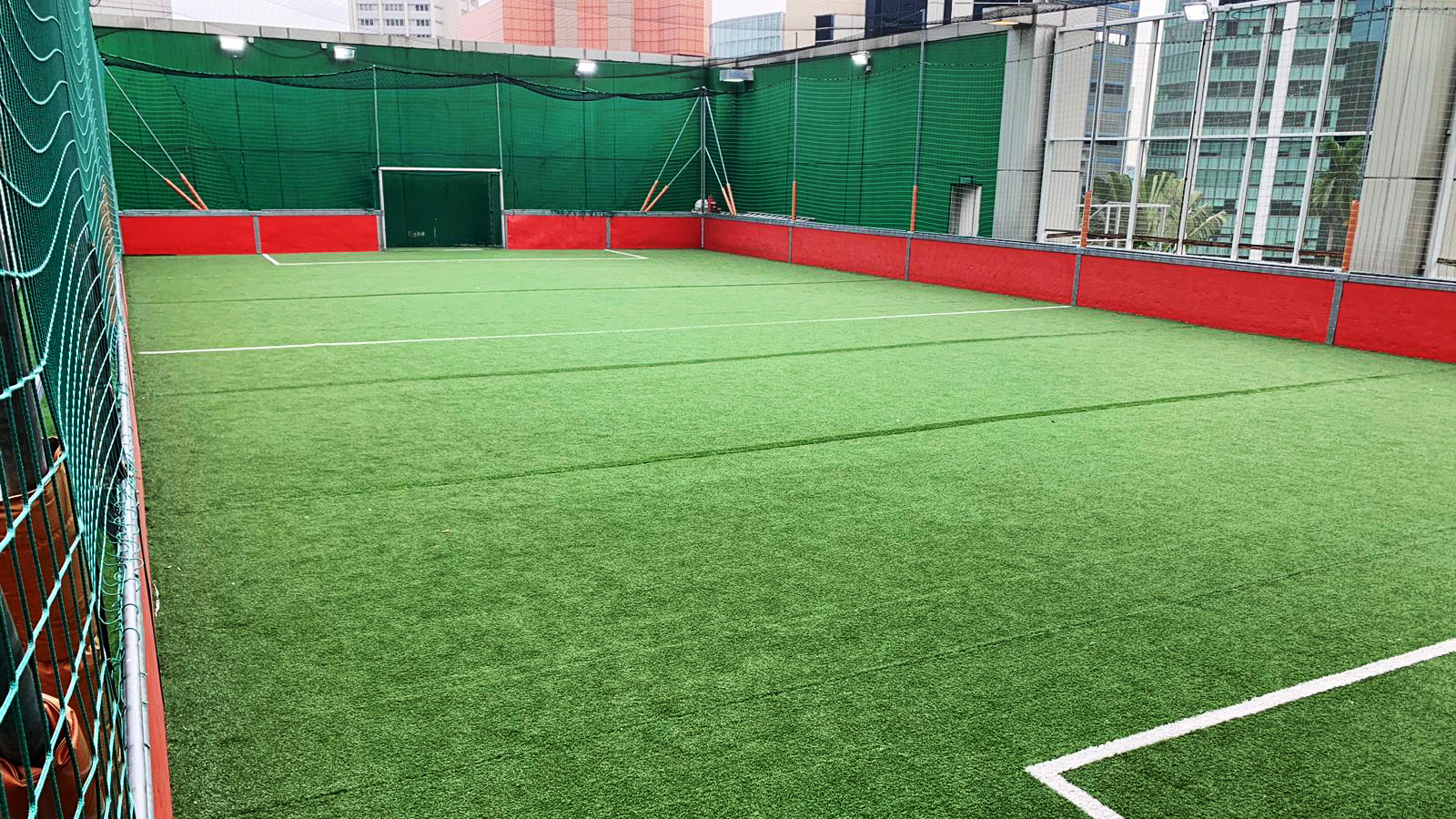 The pitch is available for bookings all day on Fridays, weekends and public holidays.