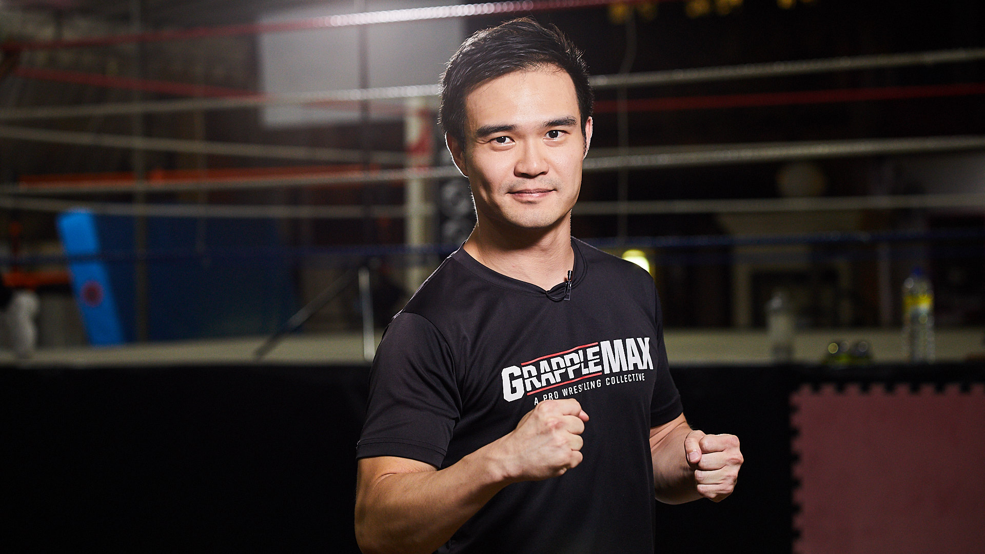 Greg Ho, founder of loc pro wrestling fitness school Grapple MAX