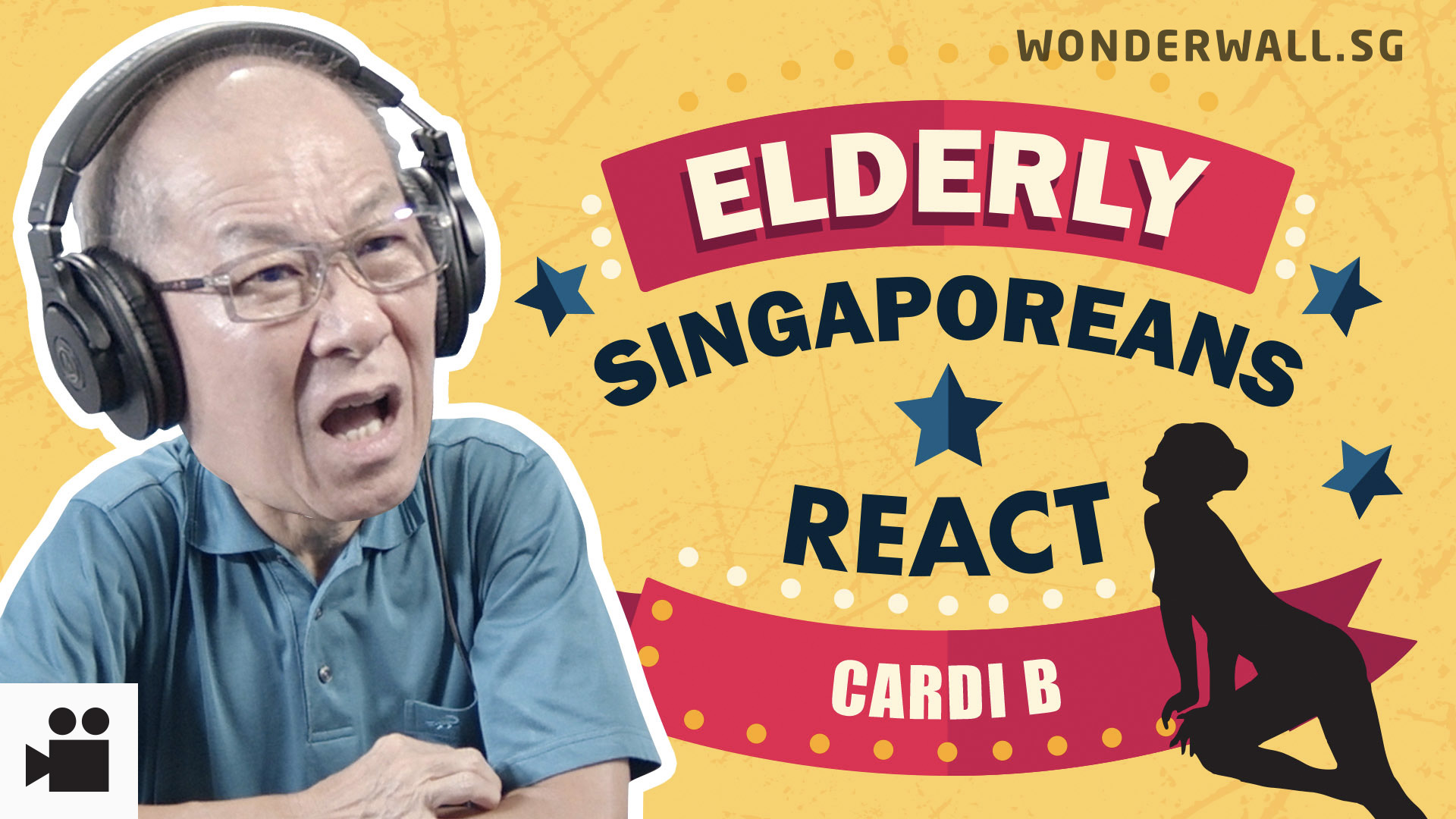 Elderly Singaporeans React: Cardi B - Press