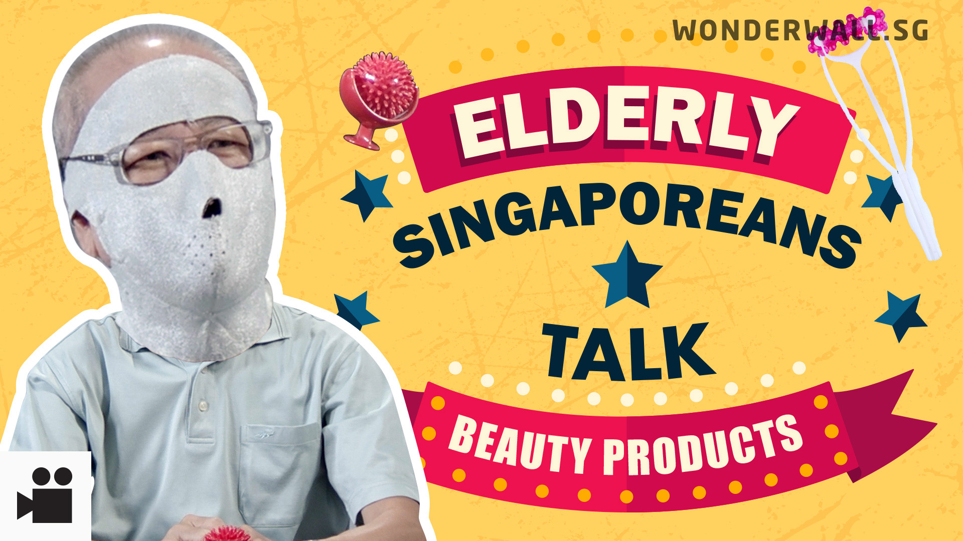 Elderly Singaporeans React: Beauty Products