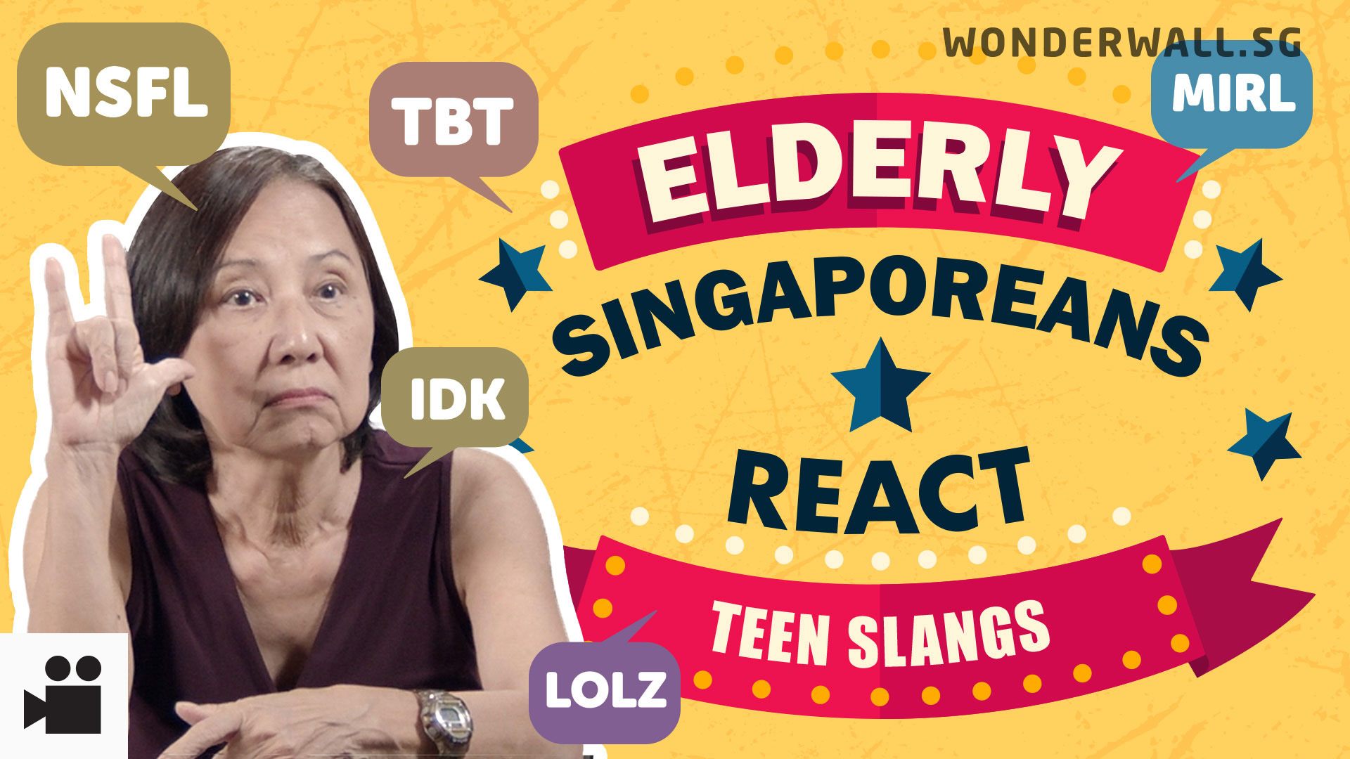 Elderly Singaporeans React: Teen Slang