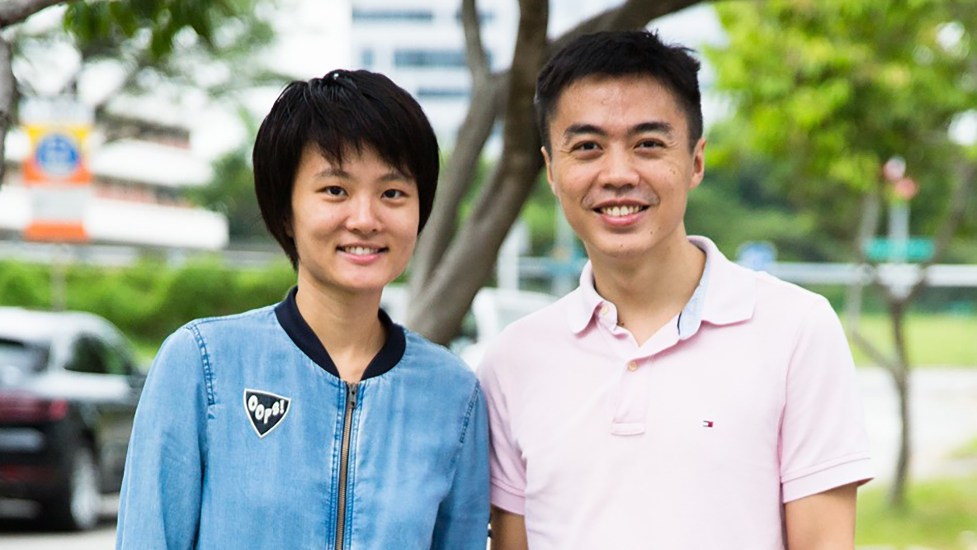 Ski Yeo and Eugene Lee, the husband-and-wife duo who started LearnDialect.sg.