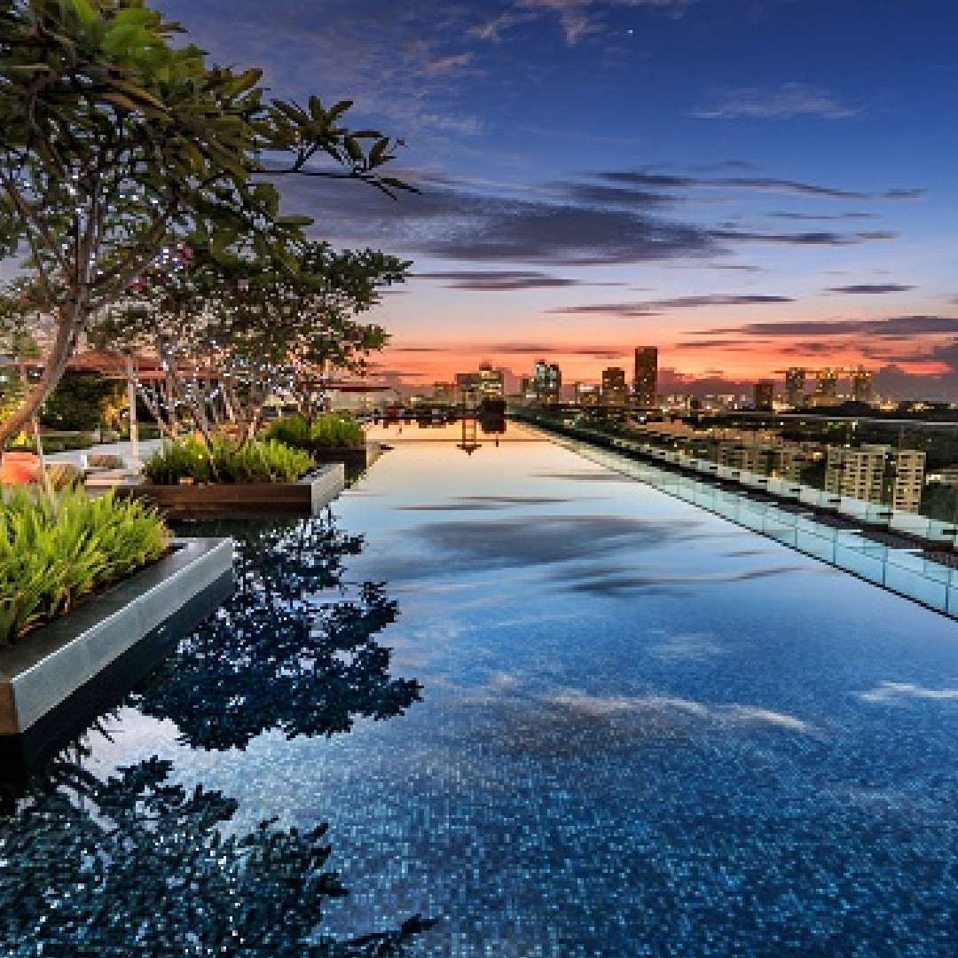 9 Hotel Pools In Singapore So Incredible You'd Rather Sleep There Than Your Actual Room