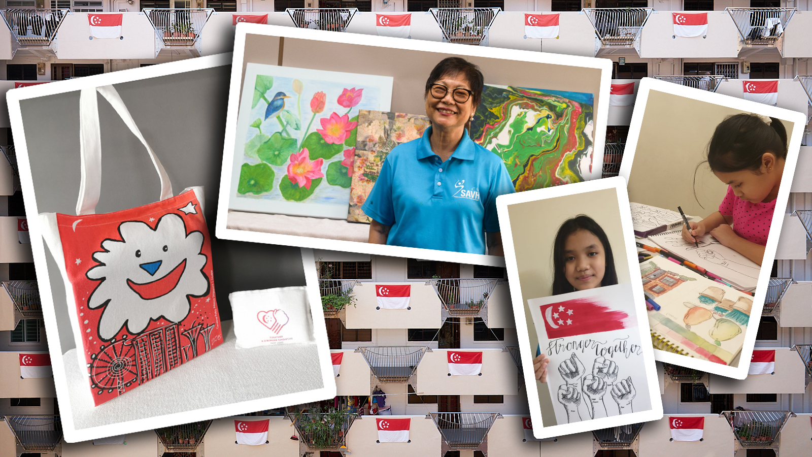 Inside The Singapore Together Pack: Heart, Joy, Pride And Strength