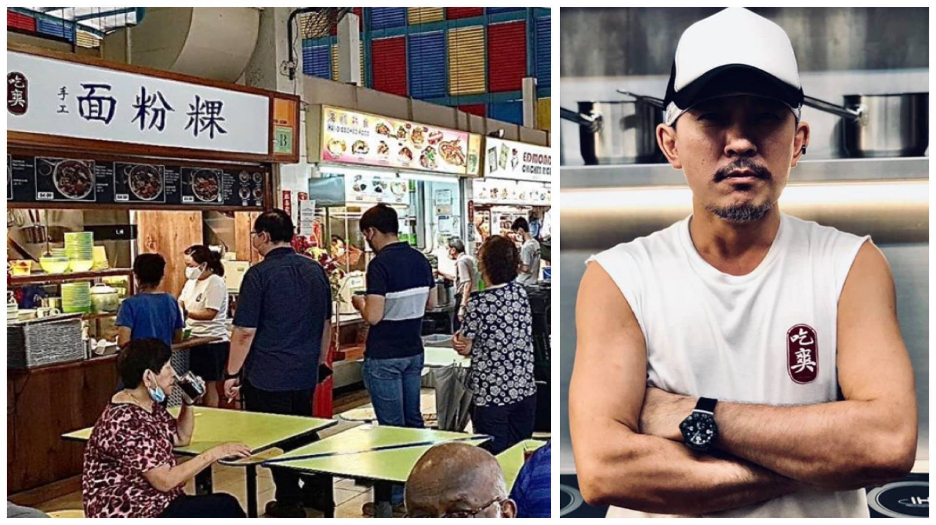 What better way to learn the hawker trade than from this no-nonsense MasterChef Singapore finalist at his mee hoon kueh stall.