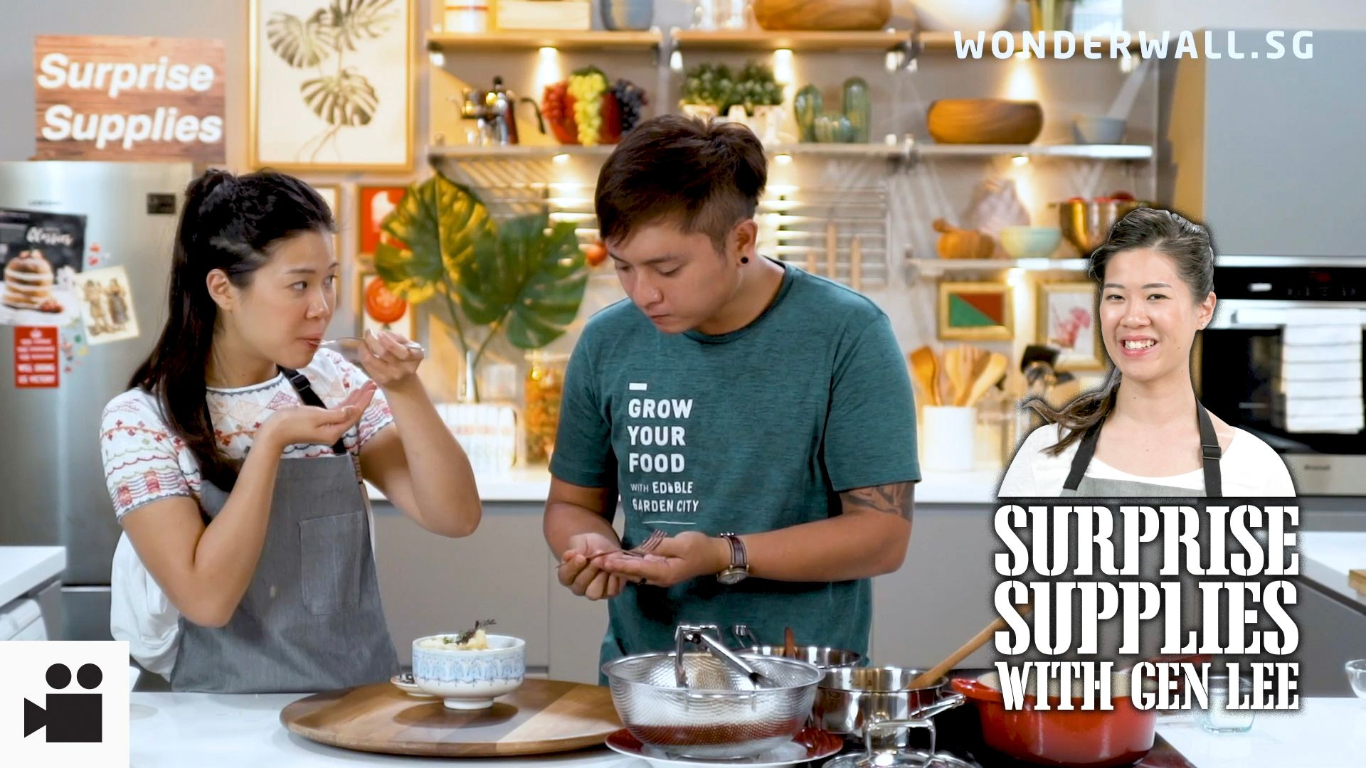 Mushrooms + Microgreens + MasterChef Singapore Finalist = Mouthwatering Magic