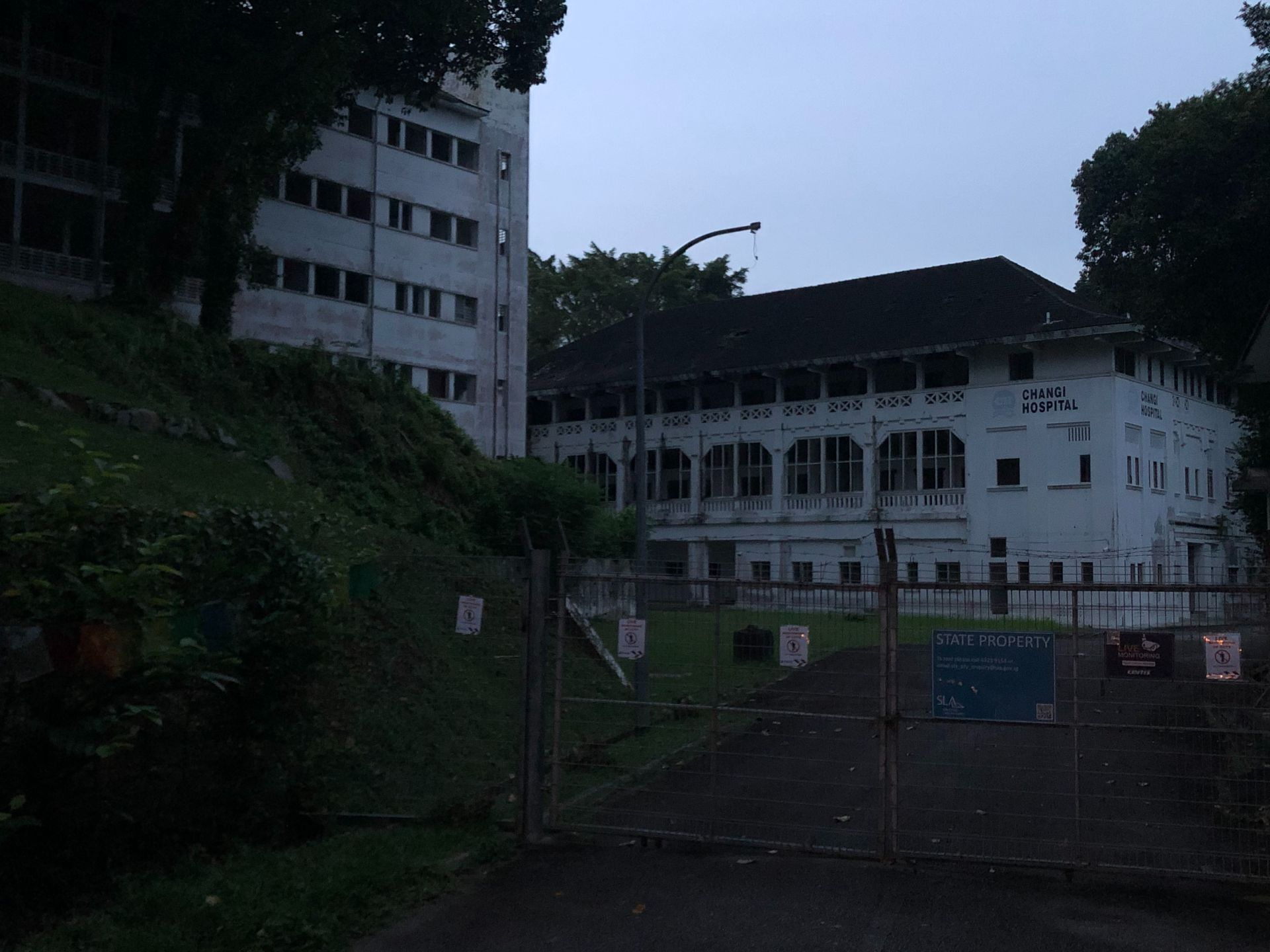 Old Changi Hospital is considered to be the most haunted place in Singapore. We don't suggest zooming in on any part of this picture.