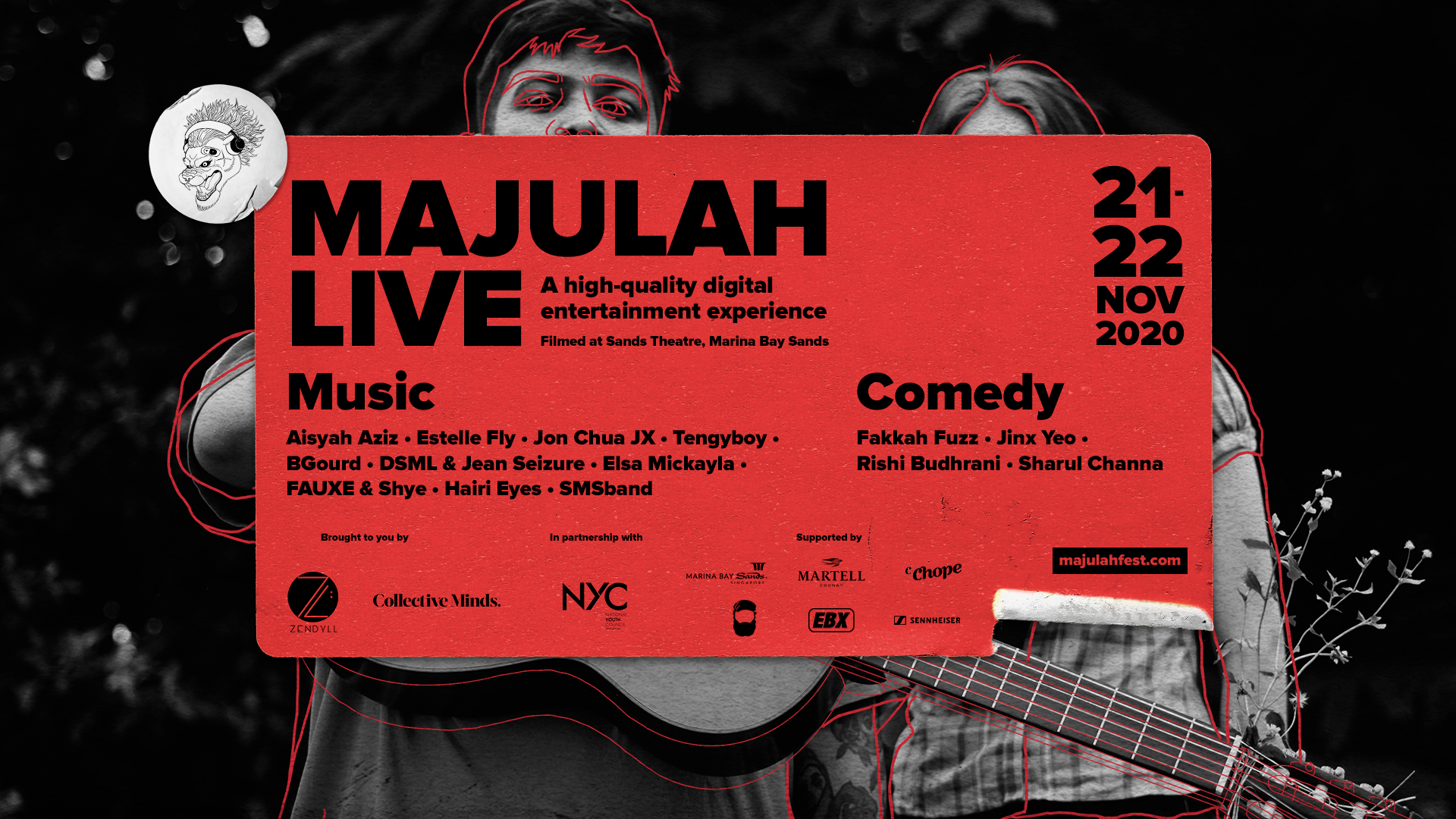 PHOTO: MAJULAH LIVE 2020