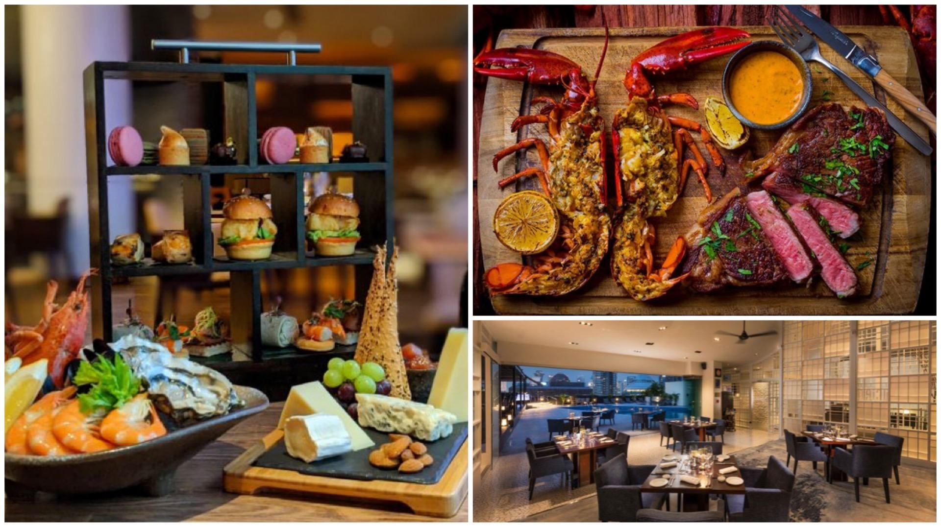 Utterly mouth-watering foodie staycations are yours to, ahem, savour at Hilton Singapore - whether you're craving a seafood-themed high tea or a meaty steak-cation.