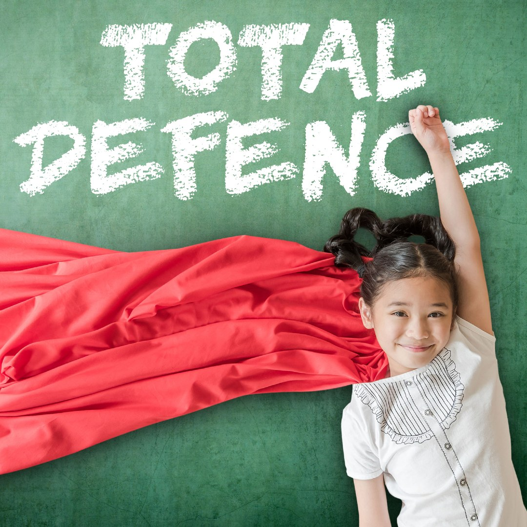 How To Explain The Importance Of Total Defence To A Child