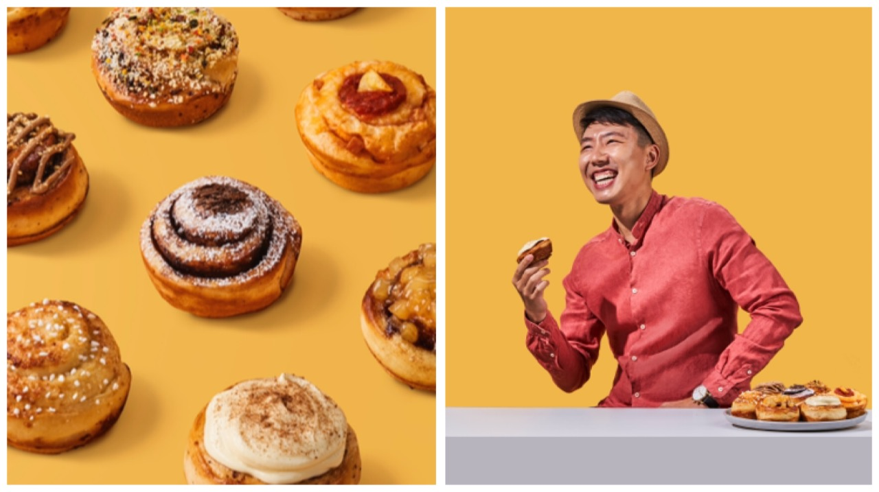 New Specialty Cinnamon Roll Kiosk Includes Milo Dinosaur, Japanese Curry, and More Unconventional Flavours