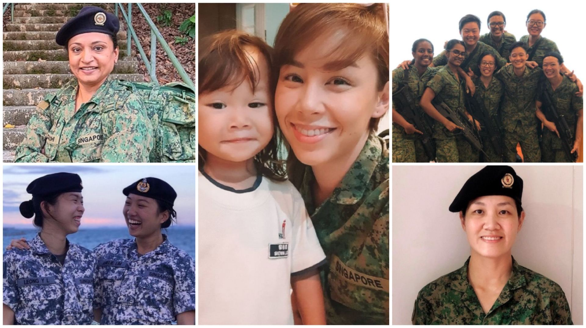 International Women's Day: Celebrating Those In The SAF Volunteer Corps