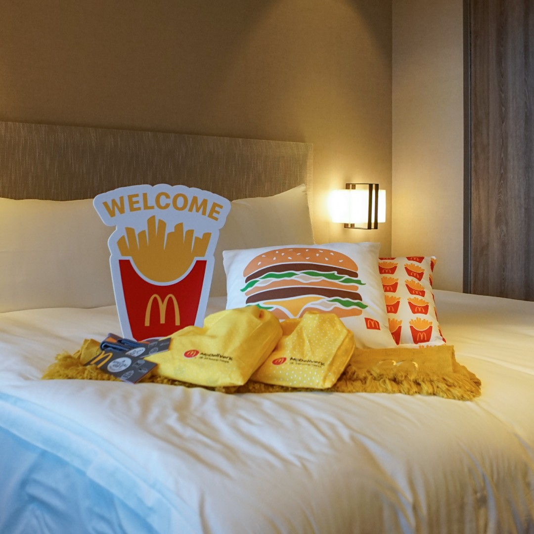 Not Your Usual Staycation: A McDonald's-Themed Holiday